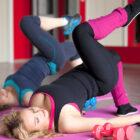 ejercicios posparto de Pilates
