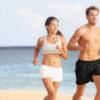 beneficios de salir a correr en la playa