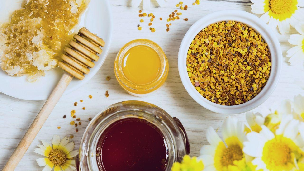 Beneficios de la miel con jalea real y polen
